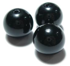 黒水晶(モリオン)珠