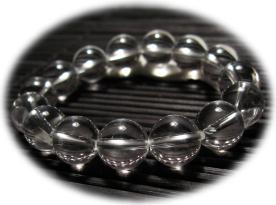 水晶(クリスタル)数珠ブレスレット