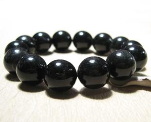 ブラックタイガーアイ数珠ブレスレット